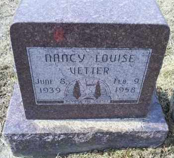 VETTER, NANCY LOUISE - Ross County, Ohio | NANCY LOUISE VETTER - Ohio Gravestone Photos