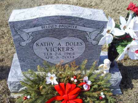 DOLES VICKERS, KATHY A. - Ross County, Ohio | KATHY A. DOLES VICKERS - Ohio Gravestone Photos
