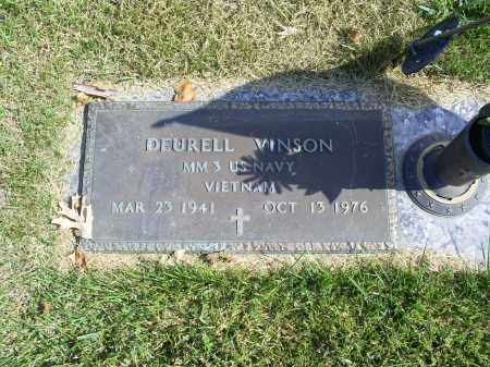 VINSON, DEURELL - Ross County, Ohio | DEURELL VINSON - Ohio Gravestone Photos