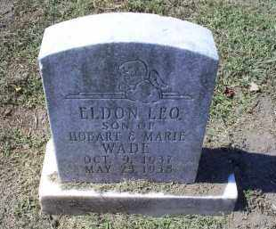 WADE, ELDON LEO - Ross County, Ohio | ELDON LEO WADE - Ohio Gravestone Photos