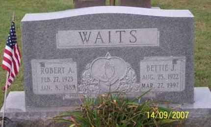 WAITS, BETTIE J. - Ross County, Ohio | BETTIE J. WAITS - Ohio Gravestone Photos