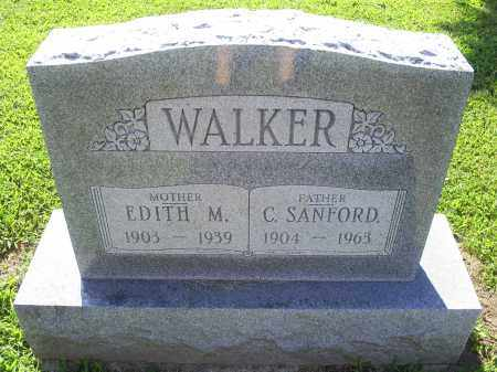 WALKER, C. SANFORD - Ross County, Ohio | C. SANFORD WALKER - Ohio Gravestone Photos