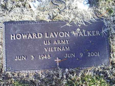 WALKER, HOWARD LAVON - Ross County, Ohio | HOWARD LAVON WALKER - Ohio Gravestone Photos