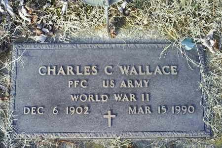 WALLACE, CHARLES C. - Ross County, Ohio | CHARLES C. WALLACE - Ohio Gravestone Photos