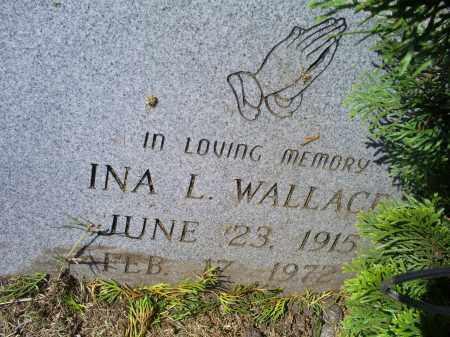 WALLACE, INA L. - Ross County, Ohio | INA L. WALLACE - Ohio Gravestone Photos