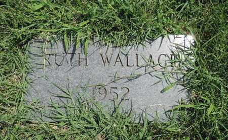 WALLACE, RUTH - Ross County, Ohio | RUTH WALLACE - Ohio Gravestone Photos