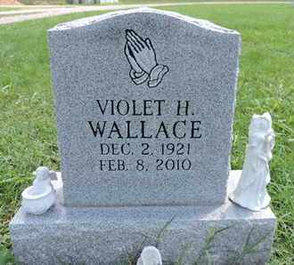 WALLACE, VIOLET H - Ross County, Ohio | VIOLET H WALLACE - Ohio Gravestone Photos