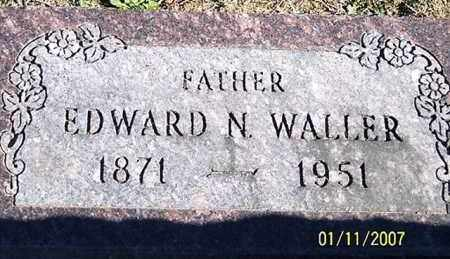 WALLER, EDWARD N. - Ross County, Ohio | EDWARD N. WALLER - Ohio Gravestone Photos