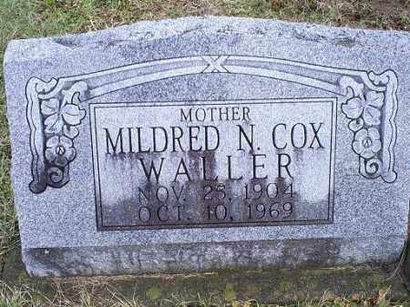 COX WALLER, MILDRED N. - Ross County, Ohio | MILDRED N. COX WALLER - Ohio Gravestone Photos