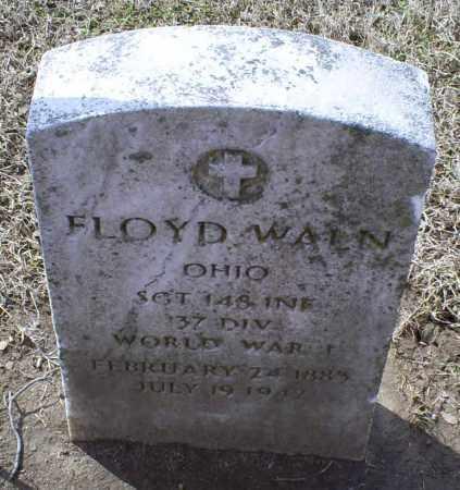 WALN, FLOYD - Ross County, Ohio | FLOYD WALN - Ohio Gravestone Photos
