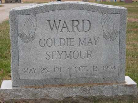 SEYMOUR WARD, GOLDIE MAY - Ross County, Ohio | GOLDIE MAY SEYMOUR WARD - Ohio Gravestone Photos