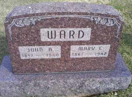 WARD, MARY C. - Ross County, Ohio | MARY C. WARD - Ohio Gravestone Photos