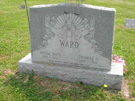 DAVIS WARD, RHODA ANN - Ross County, Ohio | RHODA ANN DAVIS WARD - Ohio Gravestone Photos