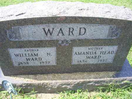HEAD WARD, AMANDA - Ross County, Ohio | AMANDA HEAD WARD - Ohio Gravestone Photos