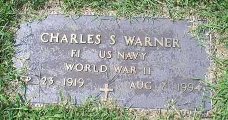WARNER, CHARLES S. - Ross County, Ohio | CHARLES S. WARNER - Ohio Gravestone Photos