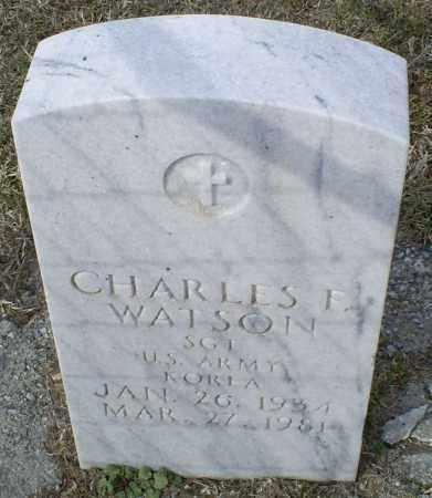WATSON, CHARLES F. - Ross County, Ohio | CHARLES F. WATSON - Ohio Gravestone Photos