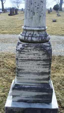 WATSON, ELLEN - Ross County, Ohio | ELLEN WATSON - Ohio Gravestone Photos