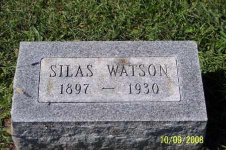 WATSON, SILAS - Ross County, Ohio | SILAS WATSON - Ohio Gravestone Photos
