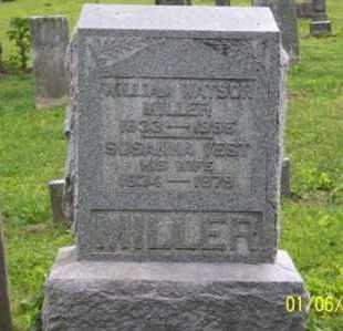 VEST WATSON, SUSANNA - Ross County, Ohio | SUSANNA VEST WATSON - Ohio Gravestone Photos