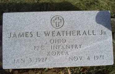 WEATHERALL, JAMES L. JR. - Ross County, Ohio | JAMES L. JR. WEATHERALL - Ohio Gravestone Photos