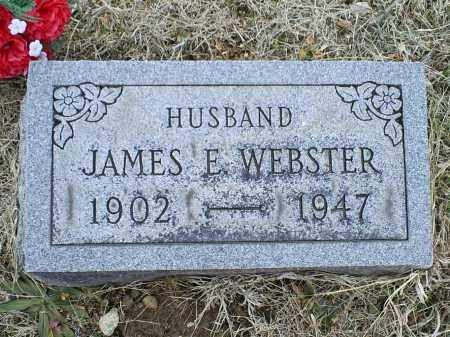 WEBSTER, JAMES E. - Ross County, Ohio | JAMES E. WEBSTER - Ohio Gravestone Photos