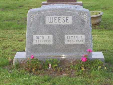 WEESE, ELMER P. - Ross County, Ohio | ELMER P. WEESE - Ohio Gravestone Photos