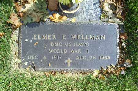 WELLMAN, ELMER E. - Ross County, Ohio | ELMER E. WELLMAN - Ohio Gravestone Photos