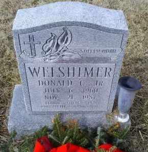 WELSHIMER, DONALD C. JR. - Ross County, Ohio | DONALD C. JR. WELSHIMER - Ohio Gravestone Photos