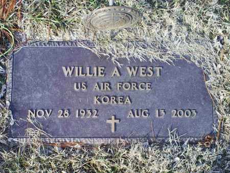 WEST, WILLIE A. - Ross County, Ohio | WILLIE A. WEST - Ohio Gravestone Photos