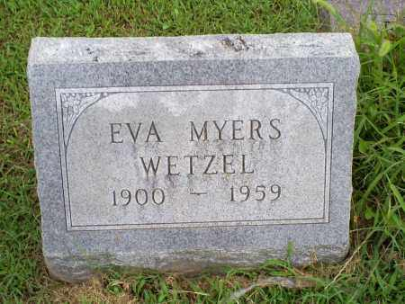 MYERS WETZEL, EVA - Ross County, Ohio | EVA MYERS WETZEL - Ohio Gravestone Photos