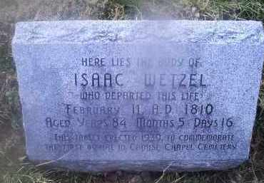 WETZEL, ISAAC - Ross County, Ohio | ISAAC WETZEL - Ohio Gravestone Photos