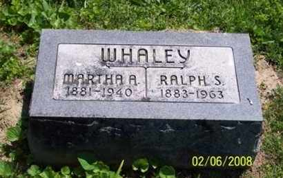 WHALEY, RALPH S. - Ross County, Ohio | RALPH S. WHALEY - Ohio Gravestone Photos