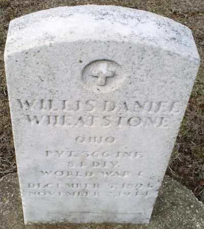 WHEATSTONE, WILLIS DANIEL - Ross County, Ohio | WILLIS DANIEL WHEATSTONE - Ohio Gravestone Photos