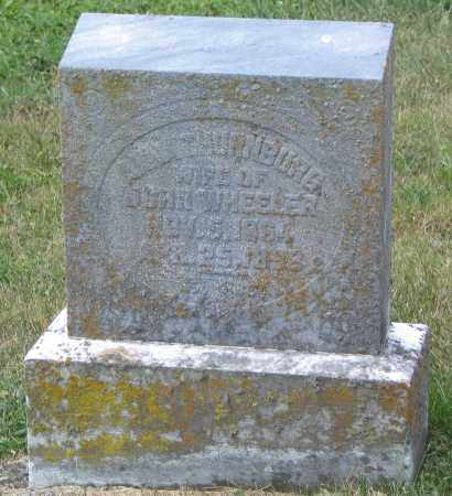 THORNBURG WHEELER, ANNA - Ross County, Ohio | ANNA THORNBURG WHEELER - Ohio Gravestone Photos