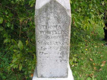 WHEELER, THOMAS - Ross County, Ohio | THOMAS WHEELER - Ohio Gravestone Photos