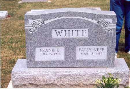 WHITE, FRANK E. - Ross County, Ohio | FRANK E. WHITE - Ohio Gravestone Photos