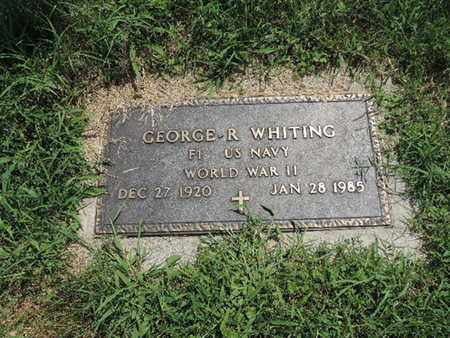 WHITING, GEORGE R - Ross County, Ohio | GEORGE R WHITING - Ohio Gravestone Photos