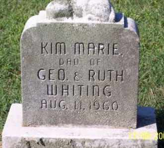 WHITING, KIM MARIE - Ross County, Ohio | KIM MARIE WHITING - Ohio Gravestone Photos