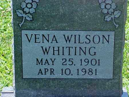 JONES WHITING, VENA - Ross County, Ohio | VENA JONES WHITING - Ohio Gravestone Photos