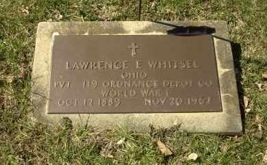 WHITSEL, LAWRENCE E. - Ross County, Ohio | LAWRENCE E. WHITSEL - Ohio Gravestone Photos