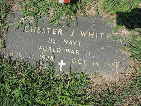 WHITT, CHESTER J - Ross County, Ohio | CHESTER J WHITT - Ohio Gravestone Photos