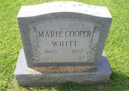 COOPER WHITT, MARIE - Ross County, Ohio | MARIE COOPER WHITT - Ohio Gravestone Photos