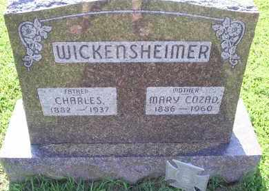 COZAD WICKENSHEIMER, MARY - Ross County, Ohio | MARY COZAD WICKENSHEIMER - Ohio Gravestone Photos