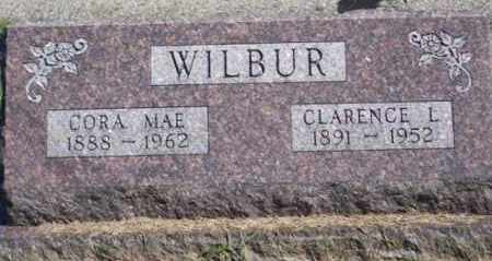 WILBUR, CORA MAE - Ross County, Ohio | CORA MAE WILBUR - Ohio Gravestone Photos