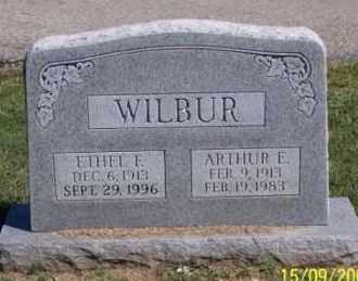 WILBUR, ETHEL F. - Ross County, Ohio | ETHEL F. WILBUR - Ohio Gravestone Photos