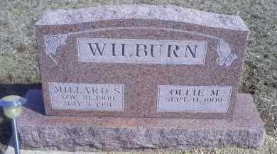 WILBURN, MILLARD S. - Ross County, Ohio | MILLARD S. WILBURN - Ohio Gravestone Photos