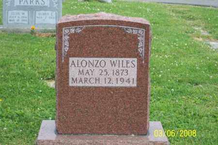 WILES, ALONZO - Ross County, Ohio | ALONZO WILES - Ohio Gravestone Photos