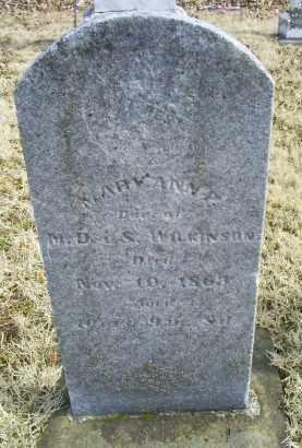 WILKINSON, MARYANN P. - Ross County, Ohio | MARYANN P. WILKINSON - Ohio Gravestone Photos