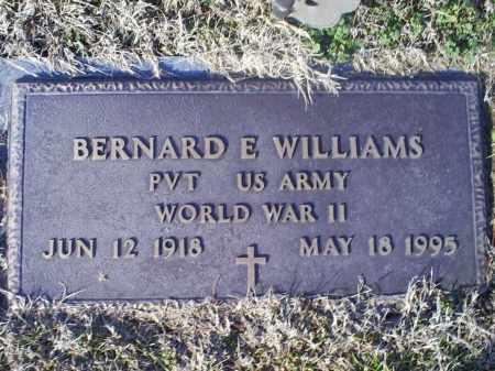 WILLIAMS, BERNARD E. - Ross County, Ohio | BERNARD E. WILLIAMS - Ohio Gravestone Photos