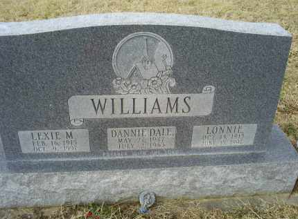 WILLIAMS, DANNIE DALE - Ross County, Ohio | DANNIE DALE WILLIAMS - Ohio Gravestone Photos